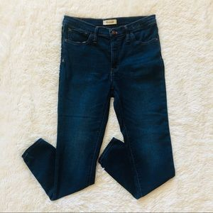 """Madewell 9"""" Mid Rise Skinny Jeans"""
